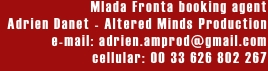 Mlada Fronta booking agent